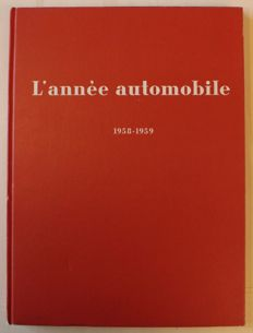 L'annee automobile 1958-1959 - automobile sports yearbook - 24 x 32.5 cm