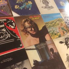 Lot of 12 albums - Bluesrock Jazzrock : Steve Winwood, Traffic, J Geils Band, Little Feat and more
