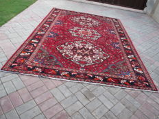Semi Antique Genuine Hand Knotted Persian Rug 300 x 216 cm