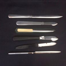 6 Vintage Letter Openers