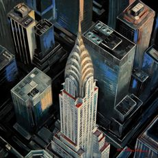 Adam Wajerczyk - New York  Chrysler Building