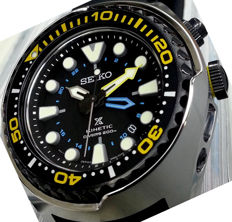 Seiko — Kinetik Professional Diver's 200m — Nuovo —  Uomo -- New Men's watch