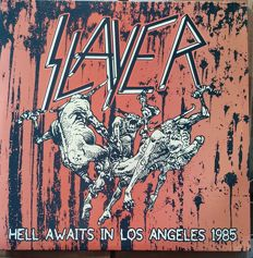 Slayer ‎– Hell Awaits In Los Angeles 1985 2LP
