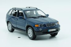 Kyosho - Scale 1/18 - BMW X5 3.0 D 2001 - Blue