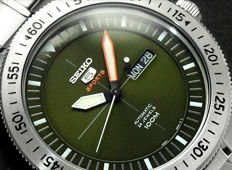 Seiko Automatic 24 jewels 'Green Dial' - New - Men's