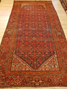 Persian antique Malayer carpet, 301 x 160 cm