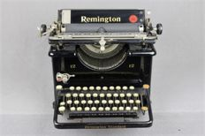 Antique Remington 12 typewriter, United States, around 1920