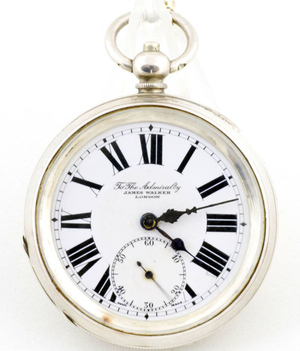 James Walker   - Watchmaker to the Admiralty - pocket watch - nº 1460058 - Hombre - 1901 - 1949