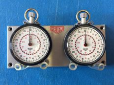 Heuer - set of 2 Stopwatch timers - circa 1970