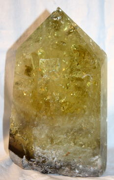 Large Citrine Point polished - 190 x 120 x 60 mm - 2.2 kg