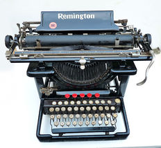 Prachtige Remington typemachine, model Standard, USA, ca. 1920.