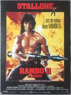 Anonymous - Rambo 2 Mission (Sylvester Stallone) - 1985