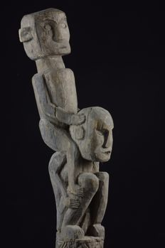 Ancestral figure riding slave - West Timor - Indonesia