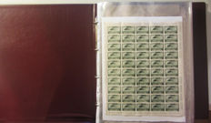Italy, Republic, 1945/1981 – Selection of complete sheets