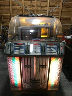 Wurlitzer Jukebox - Manufacturing year1951 - USA - serial no.: 94216