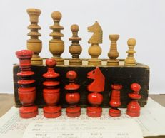 Old Regence chess with games of the time
