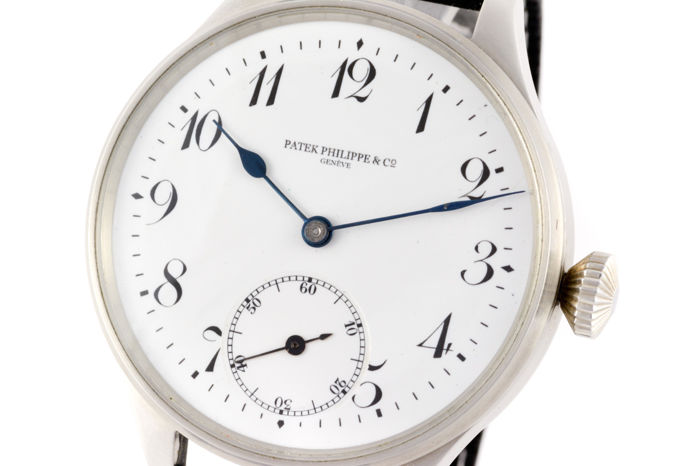 Patek Philippe - chronometer extra unique marriage wristwatch - Heren - 1890