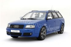 Otto Mobile - Schaal 1/18 - Audi RS6 Avant Plus - Blauw - Limited Edition 2.000