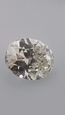 0.71 ct - Oval - White - G / VS2