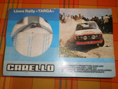 Carello headlights 1970s targa rally line new in original box