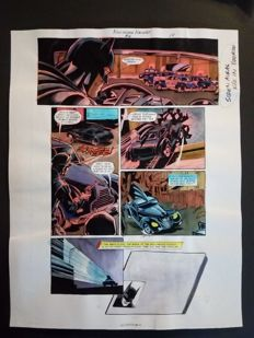 Glenn Whitmore - Original Colourisation (Color Guide Art) - Batman Hollywood Knight #2 - Page 14 - Dick Giordano - (2001)