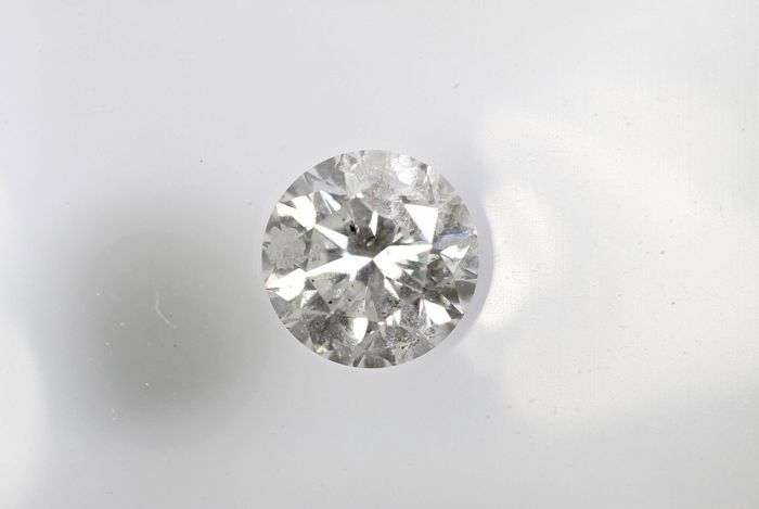 AIG Diamant - 0.27 ct - F, I1 -  * NO RESERVE PRICE *