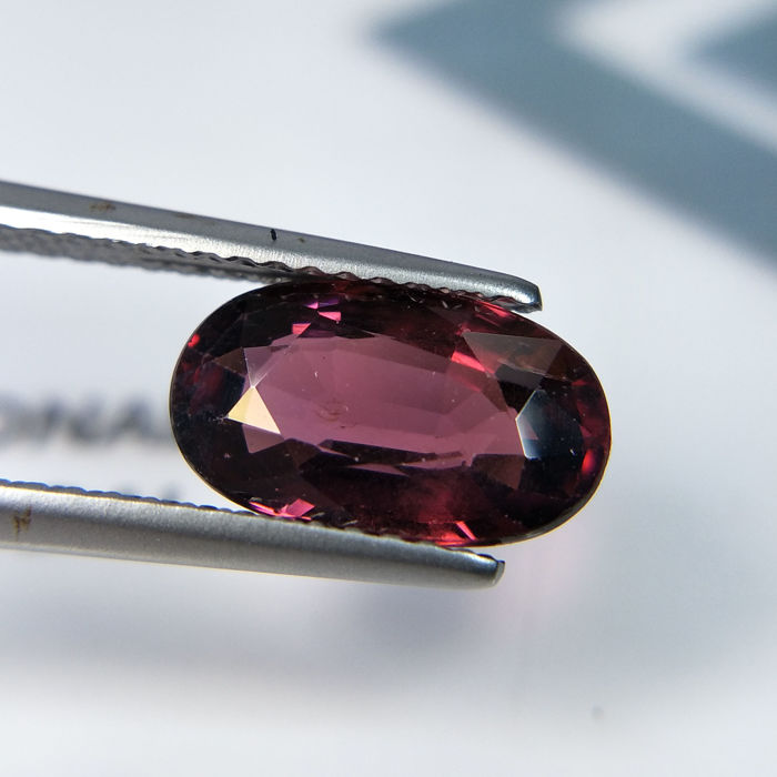 Purplish Red Rhodolite  - 2.78 ct