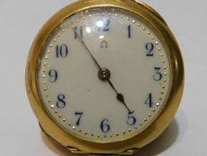 Omega pocket watch - Dual case in 18 kt gold, numbered 3333877 - 1850-1900