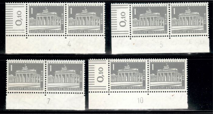 Berlin 1956-73 - MNH collection