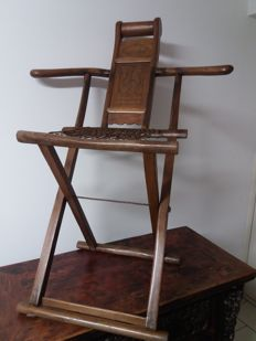 CHINESE HUNTING CHAIR, MID-19TH CENTURY (1850
