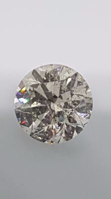 1.68 ct - Round Brilliant - White - G / SI1