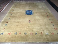 Oriental Gabbeh! 100% hand-knotted