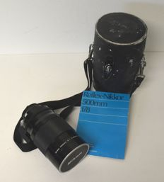 Reflex-Nikkor C lens - f.1: 8 - 500 mm - with case