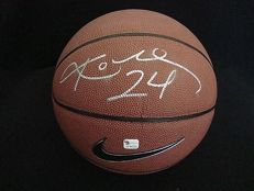Kobe Bryant signed Nike authentic Basketball with COA Autographed by NBA HOF. RARE # 24 No Reserve Price!