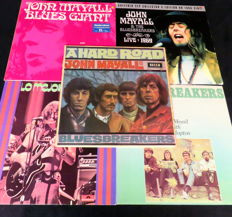 Blues from John Mayall: 5 albums (two doubles) 1967/2012