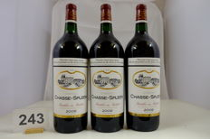 2009, Chateau Chasse-Spleen, Cru Bourgeois Exceptionnel, Moulis-en-Medoc, France - 3 Magnums.