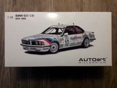 "Autoart - Scale 1/18 - BMW 635CSI ""Genuine BMW parts"