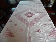 Tablecloth from the war of 1940, Belgium