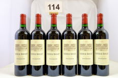 2007 Chateau Rouget, Pomerol - 6 bottles (75cl)