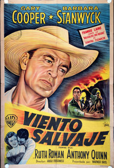 Viento Salvaje (Blowing wild) - 1953