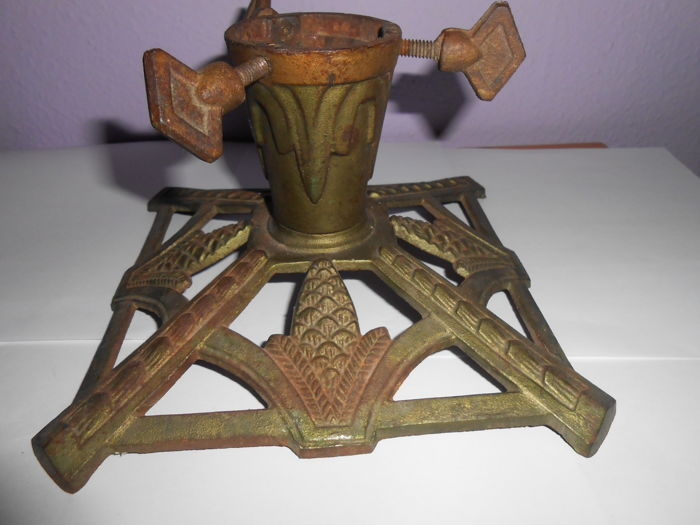 Old Christmas Tree Stand Art Deco