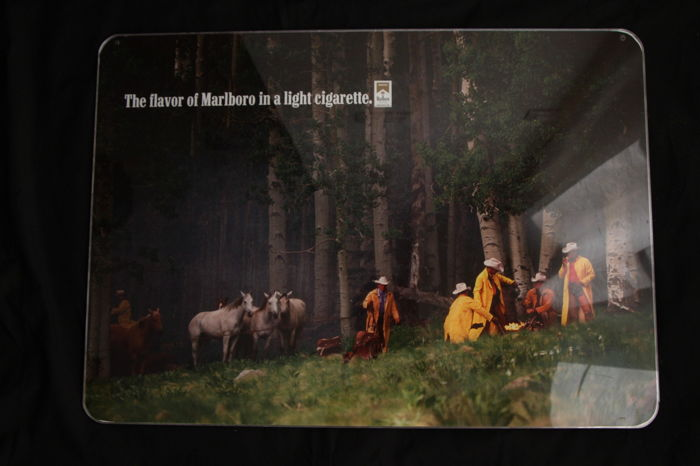 Original publicity panel - Marlboro Light -  1970