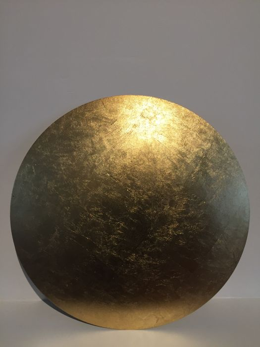 Enzo Catellani for Catellani & Smith - gold leaf wall or ceiling ...