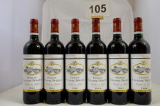 2004, Chateau Chasse-Spleen, Cru Bourgeois Exceptionnel, Moulis-en-Medoc, France - 6 Bottles.