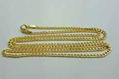14 Ct Yellow Gold Chain, length 55 cm, weight 2.72g
