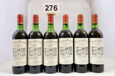 3x 1974, 3x 1975 Chateau Grand Corbin, Saint-Emilion Grand Cru Classe, France - 6 Bottles.