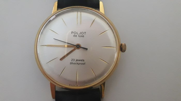 "Poljot - Poljot de Luxe ""ultra-slim"" Men's watch. 10 micron - 2209 - Heren - 1960-1969"
