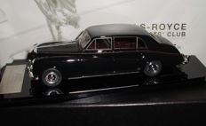 ATC - Scale 1/43 - Lot with 2 models: 2 x Rolls-Royce Phantom V 'James Young Coachwork' - Black / Silver