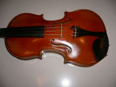 Very nice French  labeled 4/4 violin (FIRELLI, (lutherie artistique)