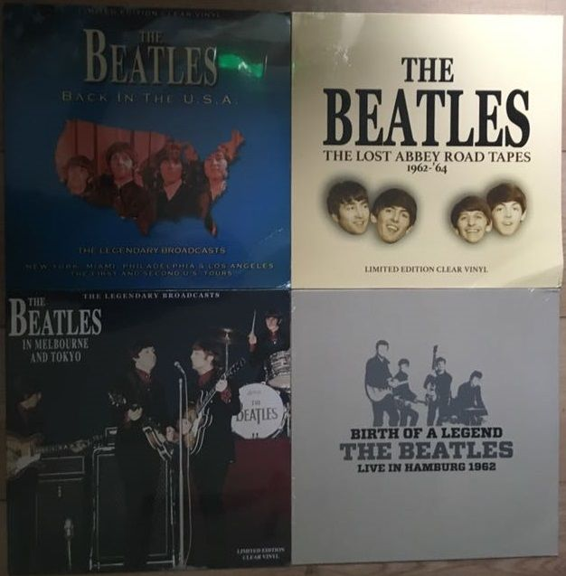 Great collection of music by The Beatles II 4 LP's II Mint in sealing